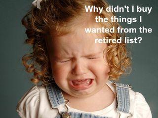 Retired list little girl crying