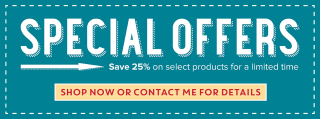 Special Offers teal