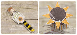 Sunflower Tube collage
