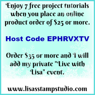 Free bundle of tutorials for paper crafting, Lisa's Stamp Studio, www.lisasstampstudio.com