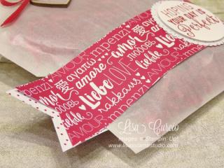 Suite Sentiments Gift Bag, Lisa's Stamp Studio, www.lisasstampstudio.com