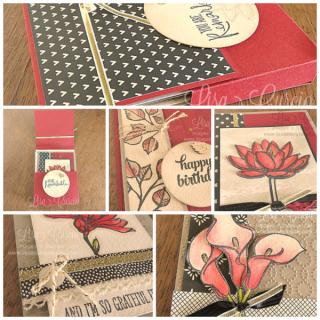 Remarkable You Box & Cards, PDF tutorial, Lisa's Stamp Studio, www.lisasstampstudio.com