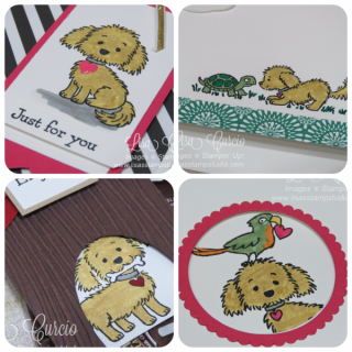Bella & Friends Card Collection, PDF tutorial, Lisa's Stamp Studio, www.lisasstampstudio.com