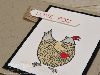 Hey Chick, Crazy About You, Lisa's Stamp Studio, www.lisasstampstudio.com