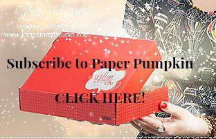 Paper Pumpkin includes Paper Pumpkin Parade only at Lisa's Stamp Studio, www.lisasstampstudio.com