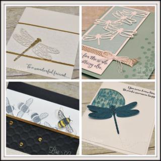 Dragonfly Dreams Card Collection #2, Lisa's Stamp Studio, www.lisasstampstudio.com