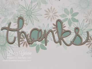 Grateful Bunch, Blooms & Wishes, Hello You Thinlits, Stampin' Up!, card, paper, craft, scrapbook, rubber stamp, hobby, how to, DIY, handmade, Live with Lisa, Lisa's Stamp Studio, Lisa Curcio, www.lisasstampstudio.com