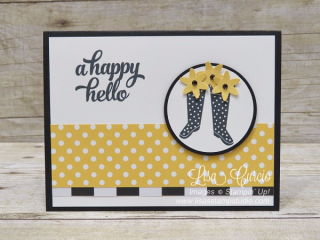 Cheerful Gift From the Garden, Stampin' Up!, card, paper, craft, scrapbook, rubber stamp, hobby, how to, DIY, handmade, Live with Lisa, Lisa's Stamp Studio, Lisa Curcio, www.lisasstampstudio.com