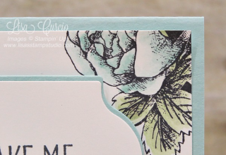Floral Statements, Lovely Friends, Stampin' Up!, card, paper, craft, scrapbook, rubber stamp, hobby, how to, DIY, handmade, Live with Lisa, Lisa's Stamp Studio, Lisa Curcio, www.lisasstampstudio.com