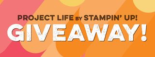 Enter to Win Project Life Giveaway