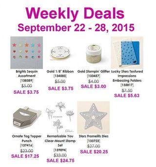 Weekly Deals Sept 22-28