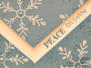 Peace on Earth, Flurry of Wishes, Lisa's Stamp Studio, www.lisasstampstudio.com
