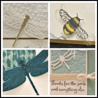 Project PDF Tutorials, Dragonfly Dreams, Lisa's Stamp Studio, www.lisasstampstudio.com