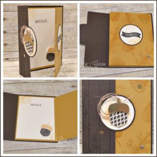 Backwards Double Panel Card, fancy fold, PDF tutorial, Lisa's Stamp Studio, www.lisasstampstudio.com