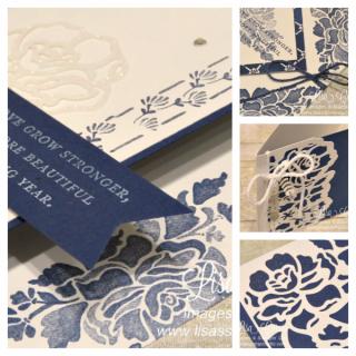 Floral Phrases Card Collection, PDF tutorial, Lisa's Stamp Studio, www.lisasstampstudio.com