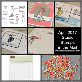 April Studio Stamps in the Mail, Beautiful You, Stampin' Up!, card, paper, craft, scrapbook, rubber stamp, hobby, how to, DIY, handmade, Live with Lisa, Lisa's Stamp Studio, Lisa Curcio, www.lisasstampstudio.com