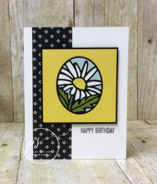 Everything is coming up Daisies! Stampin' Up!, card, paper, craft, scrapbook, rubber stamp, hobby, how to, DIY, handmade, Live with Lisa, Lisa's Stamp Studio, Lisa Curcio, www.lisasstampstudio.com