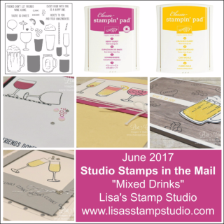 Studio Stamps in the Mail. Ordering June 11-18, 2017. Stampin' Up!, card, paper, craft, scrapbook, rubber stamp, hobby, how to, DIY, handmade, Live with Lisa, Lisa's Stamp Studio, Lisa Curcio, www.lisasstampstudio.com