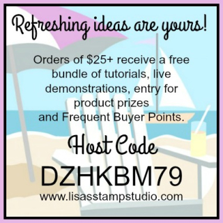 Lisa's Stamp Studio online ordering rewards  Stampin' Up!  card  paper  craft  scrapbook  rubber stamp  hobby  how to  DIY  handmade  Live with Lisa  Lisa's Stamp Studio  Lisa Curcio  www.lisasstampstudio.com