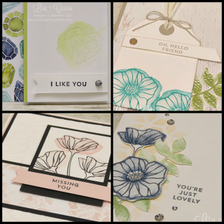 Oh So Eclectic card collection tutorial  Lisa's Stamp Studio