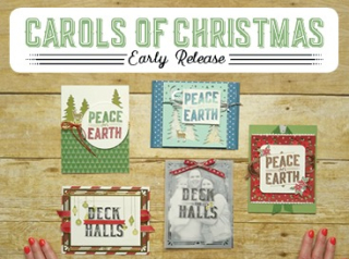 Get the pre-release of Carols of Christmas. Your purchase includes additional online ordering rewards  www.lisasstampstudiocom