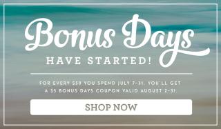 Bonus Days Blue