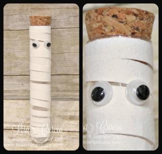 Mummy tube collage