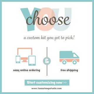 Custom Kit, Lisa's Stamp Studio, www.lisasstampstudio.com