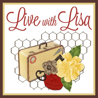 Live with Lisa, project demonstrations, free tutorials and prizes, www.lisasstampstudio.com, Lisa's Stamp Studio