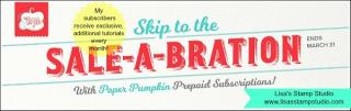 Sale-A-Bration Paper Pumpkin Sale includes a free sale item of your choice, Lisa's Stamp Studio, www.lisasstampstudio.com