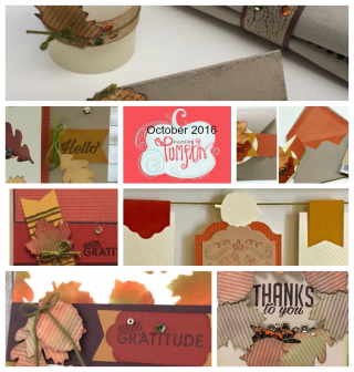 Paper Pumpkin gets you a parade of ideas with Lisa's Stamp Studio, Stampin' Up!, card, paper, craft, scrapbook, rubber stamp, hobby, how to, DIY, handmade, Live with Lisa, Lisa's Stamp Studio, Lisa Curcio, www.lisasstampstudio.com