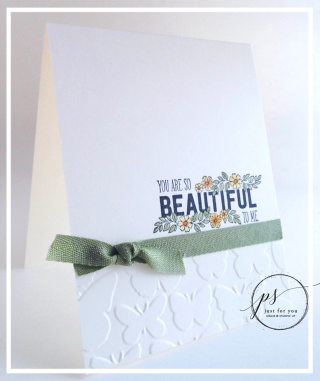 Just Add Text, clean & simple, Stampin' Up!, card, paper, craft, scrapbook, rubber stamp, hobby, how to, DIY, handmade, Live with Lisa, Lisa's Stamp Studio, Lisa Curcio, www.lisasstampstudio.com